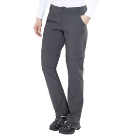 The North Face Exploration Convertible Pants Women Short asphalt grey